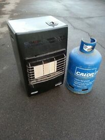 3 bar gas heater with 2 bottles