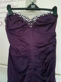 Size 14 lipsy sweetheart strapless dress
