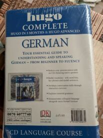 DK hugo complete German CD Language Course