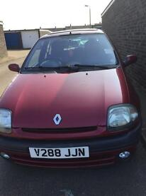 RENAULT CLIO. Very ideal for a learner or someone looking for a cheap car