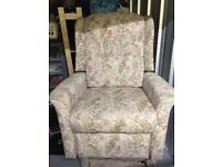 chair flower pattern