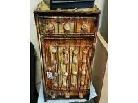Steam Punk Style bedside cabinet.