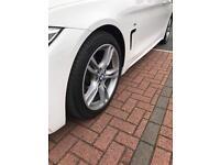 """Genuine 18"""" BMW 3/4 Series Style 400 M Alloy Wheels F30 F31 F32 F33 F36 E90 E46"""