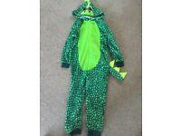 Dinosaur onesie - 7-8 kids