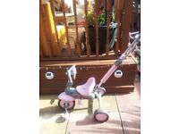 PINK SMART TRIKE WITH MOBILE