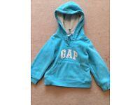 Turquoise GAP sweatshirt age 3