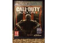 PS4 PlayStation 4 Call of Duty Black Ops 3 Brand New