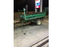 Van or tractor trailer tipper hydraulic tipper