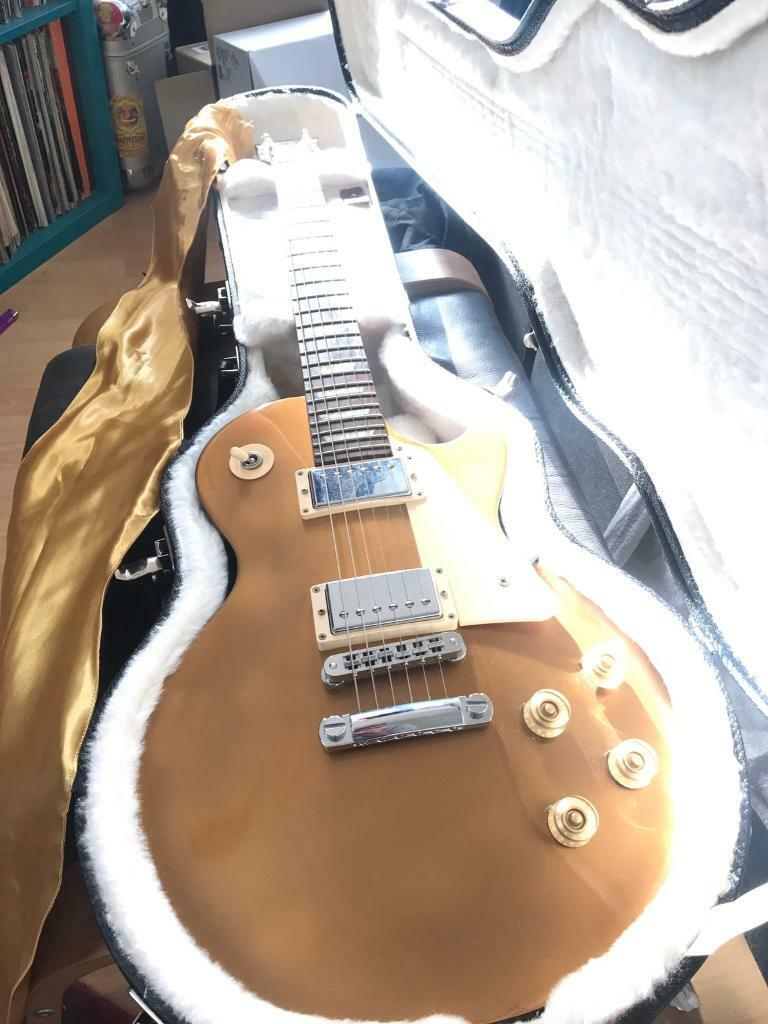 Gibson Les Paul Studio Gold Top Dark Back 2013 | in Maryhill, Glasgow |  Gumtree