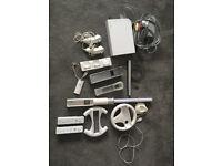 Nintendo Wii Console, games, accessories and Skylander figures