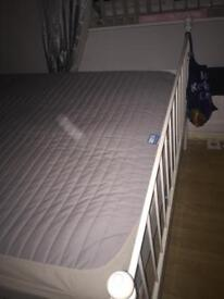 IKEA double bed with matress
