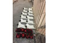 11 Pairs of Pipers Spats and 7 pairs of Pipers Hose