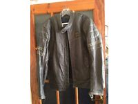 Triumph Motorcycles leather jacket