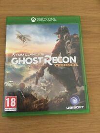 Ghost recon wildlands Xbox one edition excellent condition