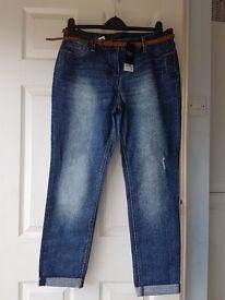 Next Jeans - New Cigarette Jeans Size 14L
