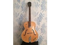 Vintage 1959 Hofner Senator Acoustic Electric Archtop Guitar