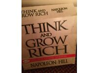 Audio CDs Think & Grow Rich by Napolean Hill Original Classic Version (your coach in a box) boxset