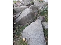 Approx 40 Large stones/boulders FREE