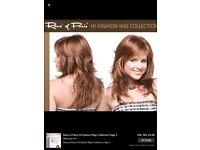 Ladies wig by Rene of Paris in Razberry Ice