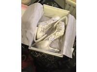 Bridal shoes size 7