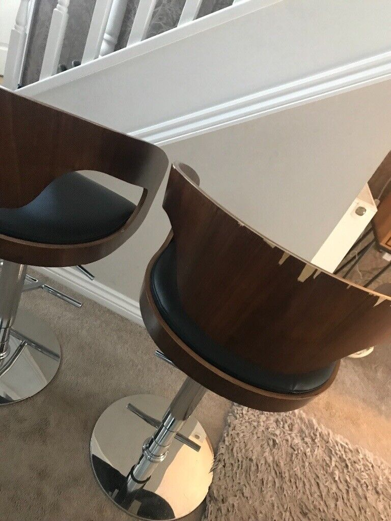 Surprising Dwell Bar Stools In Glasgow Gumtree Customarchery Wood Chair Design Ideas Customarcherynet