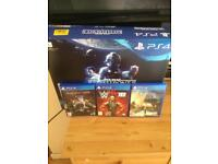 PlayStation 4 bundle With 3 games