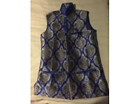Waist coat for 8 year old boy