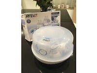 Avent Microwave Steam Steraliser and Bottles
