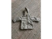Zara fleece lined jacket 12-18months
