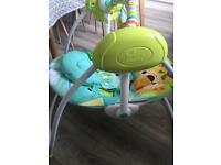Bright Starts portable baby swing