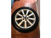 """Range Rover Supercharged 20"""" wheel and brand new tyre"""