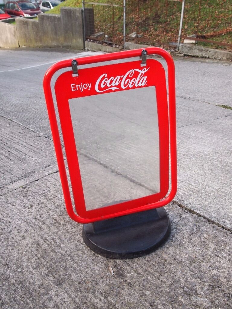 Coca Cola PAVEMENT POSTER Street SIGN A BOARD SHOP DISPLAY  : 86 from www.gumtree.com size 768 x 1024 jpeg 165kB