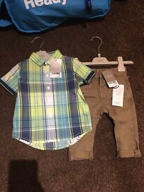 NEXT Age 3-6 months boy outfit BNWT