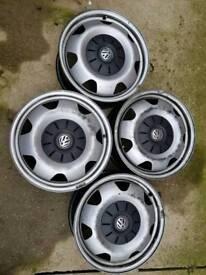 Genuine Vw Transporter 17' wheels