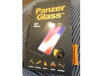 Brand new iPhone X panzer glass screen protector