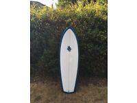 "BRAND NEW handmade surfboard, 5'5"", New model, shortboard, cornwall, brand new, single fin"