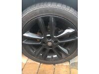 Vauxhall corsa 17inch black alloys
