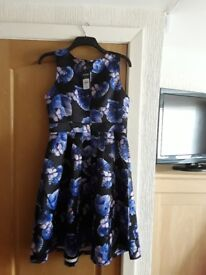 BNWT LADIES DRESS 'IZABEL of LONDON' SIZE 12 Available for collection from Euxton