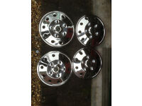 Motorhome/campervan S/Steel wheel trims