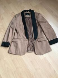 Brown jacket size 10