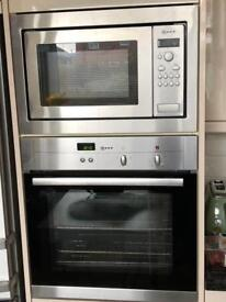 Stainless steel oven and grill +microwave