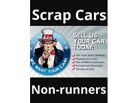 Scrap my car/van/motorcycle/ caravan for cash uxbridge west London Heathrow Hayes