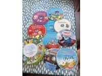 Children's Story & Song audio cd's
