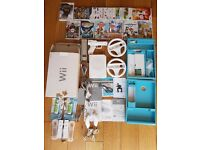NINTENDO Wii WITH LOADS OF ACCESSORIES AND GAMES IN ORIGINAL PACKAGING