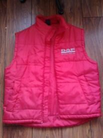 DAF red jacket new size large