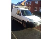 citroen berlingo 1.9 diesel 1 year mot £600 ono roof rack alloys good workhorse