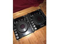 2x Pioneer CDJ - 1000mk3 + flight cases