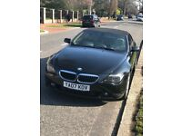 Beautiful BMW 6 SERIES Convertible, Black w/ Cream Interior