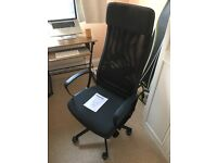 IKEA Markus office chair - bought new 3 months ago - perfect condition