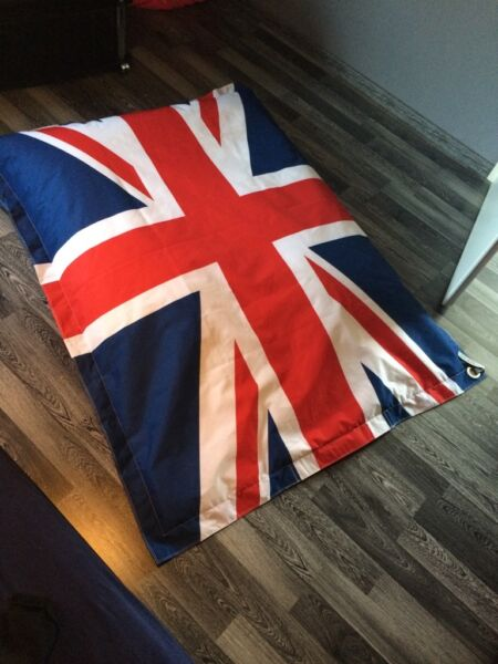 sitzsack union jack in nordrhein westfalen g tersloh ebay kleinanzeigen. Black Bedroom Furniture Sets. Home Design Ideas